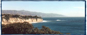 Point Dume, Malibu.  Surfing L.A. Surf School, the best way to learn how to surf in Los Angeles.